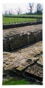 Roman Fort Ruins, England Beach Towel