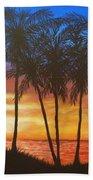 Romance In Paradise Beach Towel