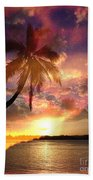 Romance Beach Towel