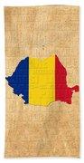 Romania Beach Towel