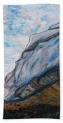 Romantic Mountains Beach Towel