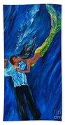 Romantic Rescue Beach Towel