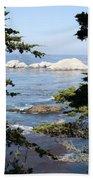 Romantic View Beach Towel