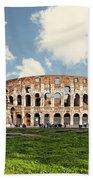 Rome Colosseum  Beach Towel