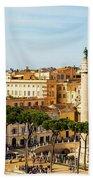 Rome, Italy. Rome, Italy. Piazza Della Beach Towel