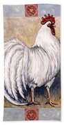 Romeo The Rooster Beach Towel