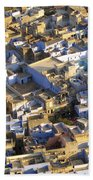 Rooftops In India Beach Towel