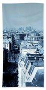 Rooftops Of Paris - Selenium Treatment Beach Towel
