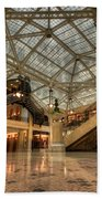 Rookery Building Main Lobby And Atrium Beach Towel