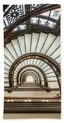 Rookery Building Oriel Staircase Beach Towel