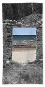 Room With A View Beach Towel