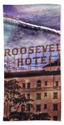 Roosevelt Retro Beach Towel