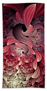 Rooster Abstract Beach Towel
