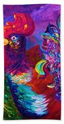 Rooster On The Horizon Beach Towel