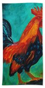 Rooster Tails Beach Towel
