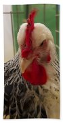 Rooster With Attitude Beach Towel