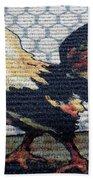 Rooster1 Beach Towel