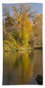 Root River Autumn 1 Beach Towel