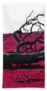 Rooted In Red Beach Towel