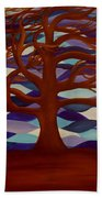 Rooted Beach Towel