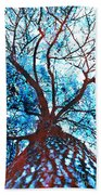Roots To Branches II Beach Towel