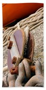 Ropes And Chains Beach Towel