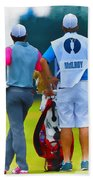Rory Mcilroy  Beach Towel