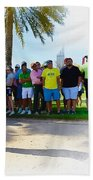 Rory Mcilroy - The Third Round Of The Omega Dubai Desert Classic Beach Towel