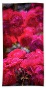 Rose 134 Beach Towel by Pamela Cooper