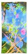 Rose 182 Beach Towel by Pamela Cooper