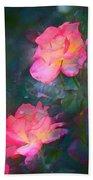 Rose 194 Beach Towel by Pamela Cooper