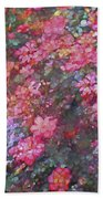 Rose 199 Beach Towel by Pamela Cooper