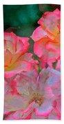 Rose 203 Beach Towel by Pamela Cooper
