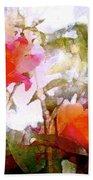 Rose 204 Beach Towel by Pamela Cooper