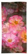 Rose 210 Beach Towel by Pamela Cooper