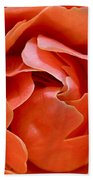 Rose Abstract Beach Towel by Rona Black