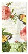 Rose Blush-a Beach Towel