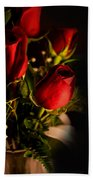 Rose Bouquet Beach Towel