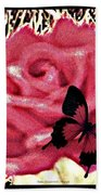 Rose By Any Other Name Beach Towel