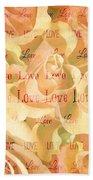 Rose Love Beach Towel
