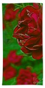 Rose Red By Jrr Beach Towel