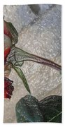Rose To The Side 4 Beach Towel
