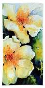Roses 2 Beach Towel
