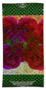 Roses- Featured In Beautiful Roses And Comfortable Art Groups Beach Towel