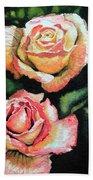 Roses I Beach Sheet