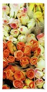 Roses 01 Beach Towel