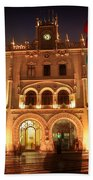 Rossio Train Station Beach Towel