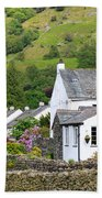Rosthwaite In The Valley Of Borrowdale Lake District Beach Towel