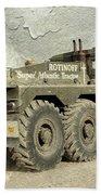 Rotinoff Tractor  Beach Towel