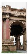 Rotunda Palace Of Fine Art - San Francisco Beach Towel